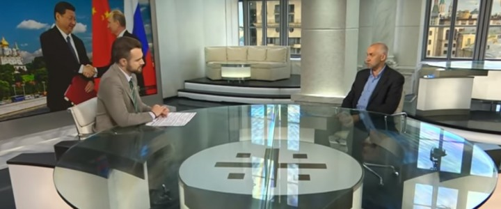 Политолог В.Л. Шаповалов на канале «Царьград»
