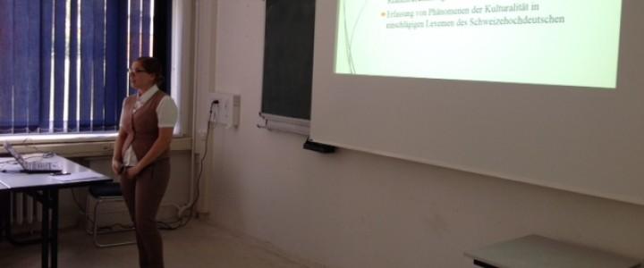 Аспиранты Института иностранных языков выступили с научными докладами в Эрфурте в рамках совместного проекта по межкультурной германистике