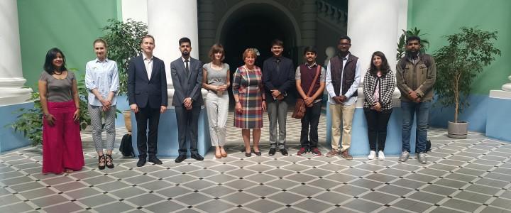 Гости из Индии в МПГУ