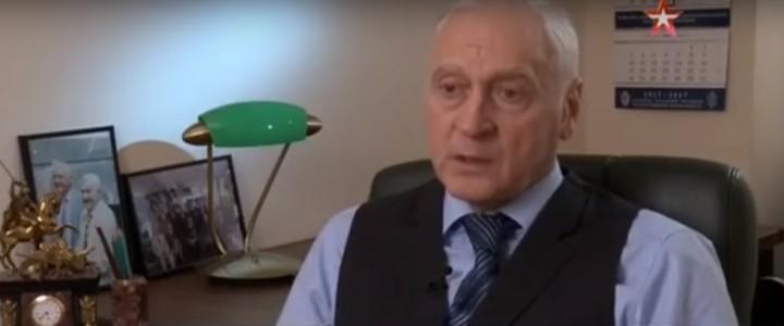 Профессор МПГУ в фильме «Падение всесильного Ягоды»