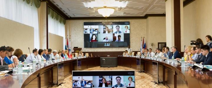 Ректор МПГУ А.В. Лубков принял участие в заседании Национального ректората Университета Шанхайской организации сотрудничества