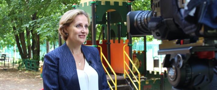 Профессор МПГУ расскажет зрителям «Первого канала» об особенностях раннего развития детей