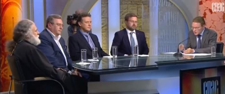 Ректор МПГУ Алексей Владимирович Лубков принял участие в программе «Образование» телеканала «Спас»