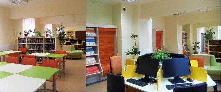 «Комфортно, спокойно, современно, красиво…»: новый читальный зал в Институте биологии и химии МПГУ