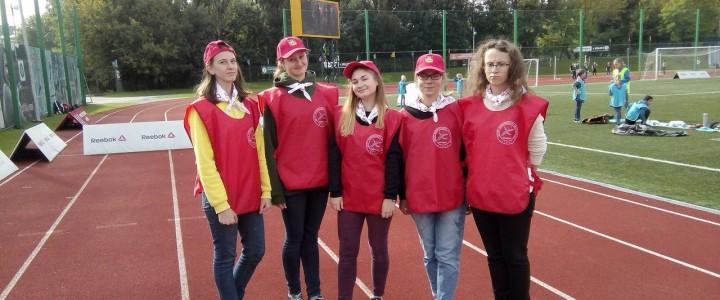 Волонтерский Центр МПГУ поучаствовал в празднике «Москва – город счастливого детства»