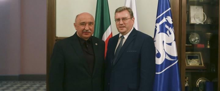 Благодарность ректору КФУ И.Р. Гафурову
