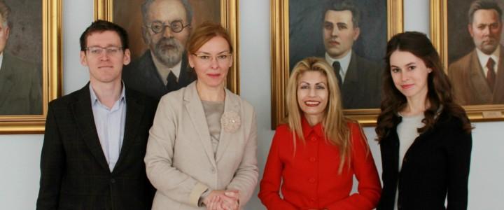 МПГУ открывает сотрудничество с греческим культурным центром в Москве