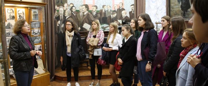 Экскурсии в Музее МПГУ 2017
