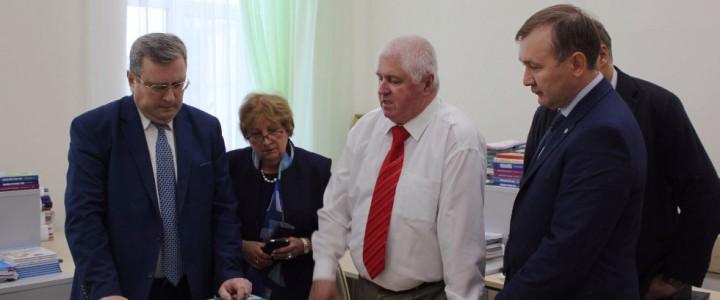 Делегация МПГУ во главе с ректором А.В. Лубковым посетила Казанский федеральный университет