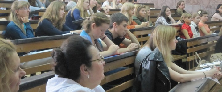 Установочные конференции по практике в Институте филологии