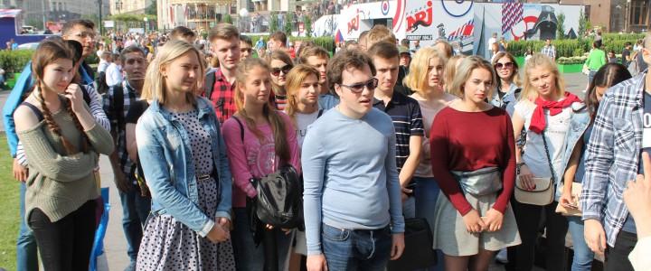 Студенты ИИиП на квесте «Москва студенческая: забытые истоки»