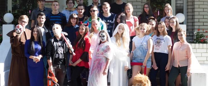 В Покровском филиале состоялось посвящение в студенты