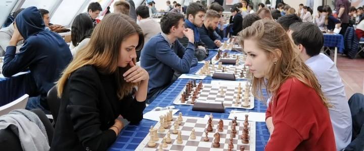 7-го октября начались XXX Московские студенческие спортивные игры по шахматам!