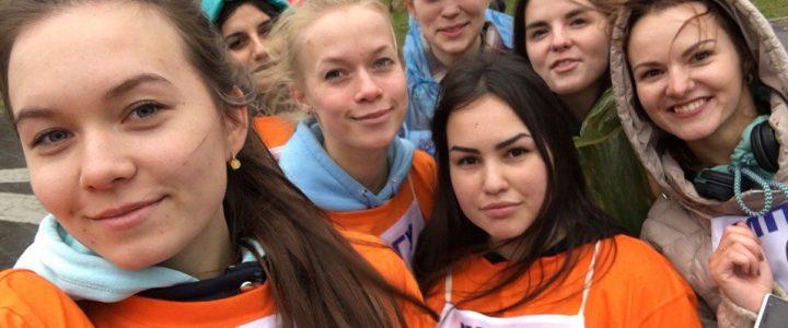 Команда «Хранители детства» факультета дошкольной педагогики и психологии на Велоквесте!