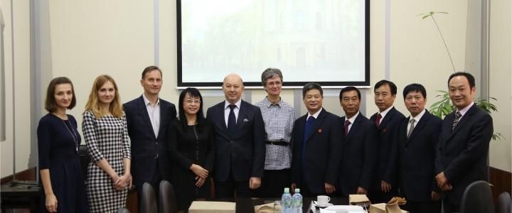 Визит делегации Научно-технического университета провинции Хунань (Китай)