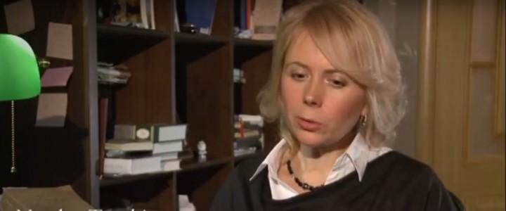 Профессор МПГУ Наталия Таньшина в фильме о российском дипломате