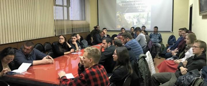 Студенты ИИиП МПГУ провели занятия в Чеченской Республике