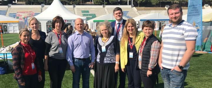 Всероссийская школа вожатых – участник II Всероссийского образовательного форума в «Артеке»