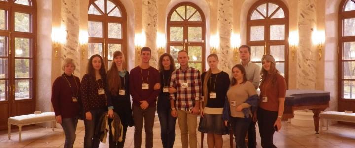 Студенты ИИиП побывали на экскурсии в Остафьево