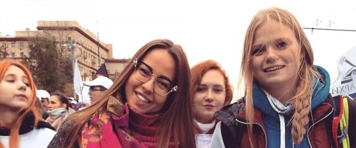 Студенты факультета педагогики и психологии приняли участие в Международном параде карнавале, приуроченному к XIX Всемирному фестивалю молодёжи и студентов