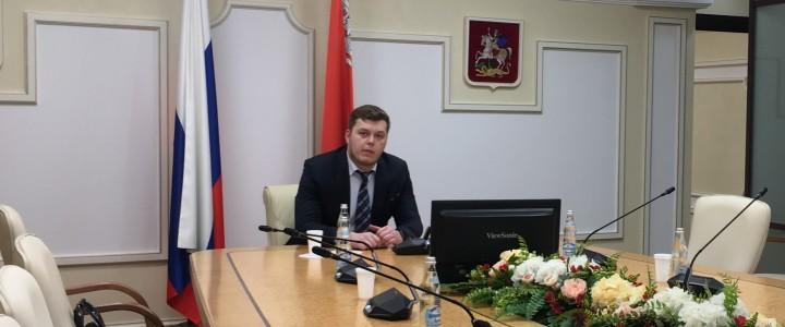 Поздравляем выпускника ИСГО Глеба Борисовича Горскина