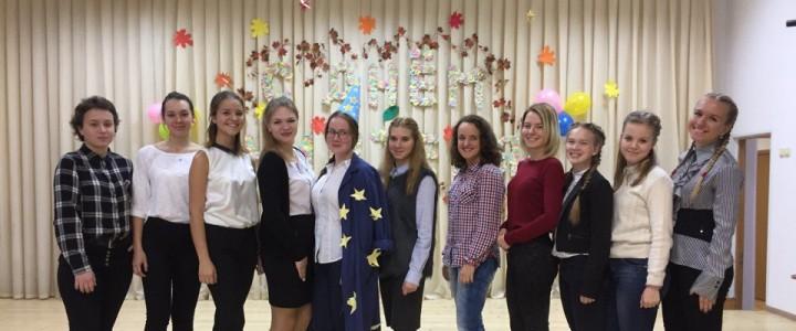Студенты Института детства подготовили праздничный концерт в коррекционной школе № 79