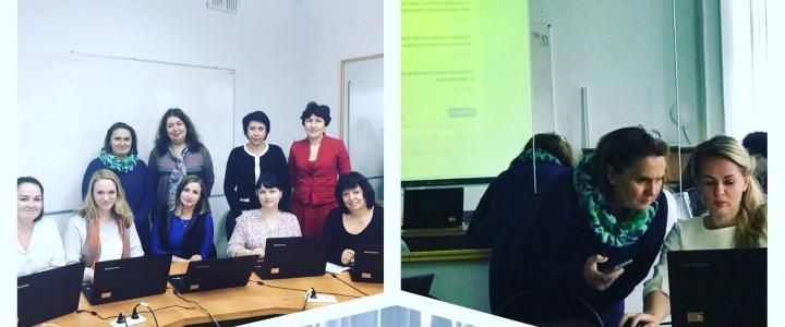 Работа кафедры информационных технологий в образовании Института детства в проекте по повышению квалификации