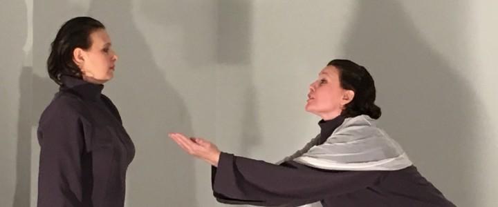 Лаборатория сценических практик кафедры психологической антропологии Института детства представила спектакль «Диалог» по произведениям А.П. Чехова