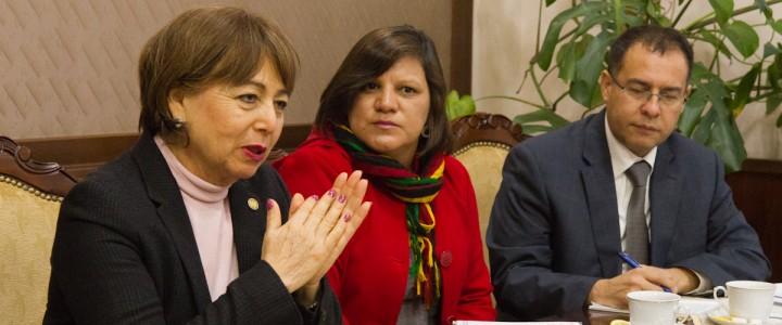 Делегация представителей образовательных учреждений из Республики Гватемала во главе с Послом госпожой Годинес Сасо посетила МПГУ