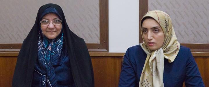 Гости из Ирана в МПГУ