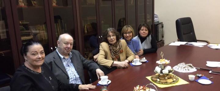 22 ноября 2017 года на кафедре социальной педагогики и психологии состоялась встреча с замечательным ученым, академиком РАО, д.ф.н., профессором Ксенией Александровной Абульхановой.