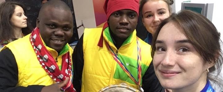 «Я стала волонтером Всемирного фестиваля молодежи и студентов!»