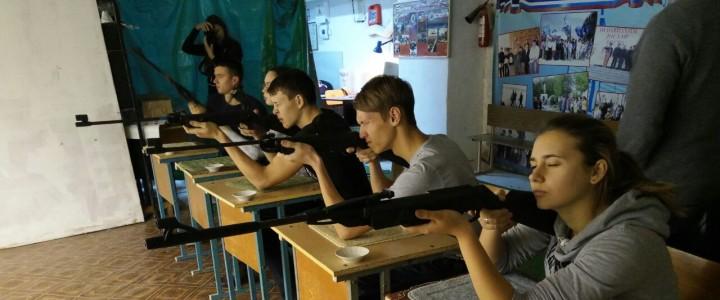 Команда Анапского филиала МПГУ заняла первое место в соревнованиях по пулевой стрельбе из пневматической винтовки