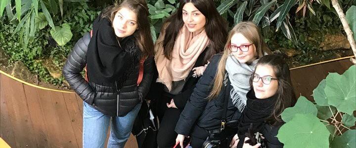 Студенты ИБХ посетили Аптекарский огород