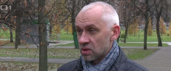 Политолог Владимир Шаповалов дал интервью Чешскому телевидению