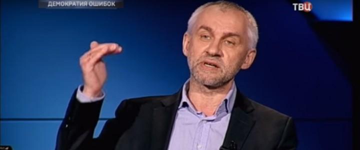 Политолог Владимир Шаповалов в программе «Право голоса»
