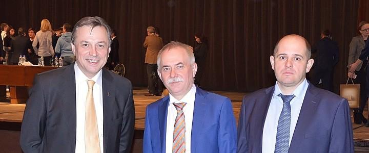 Представители журфака МПГУ приняли участие в XII Съезде Союза журналистов России