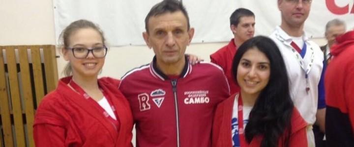 Студентка Института социально-гуманитарного образования Анаит Саакян заняла третье место на Чемпионате мира по универсальному бою в дисциплине «лайт»