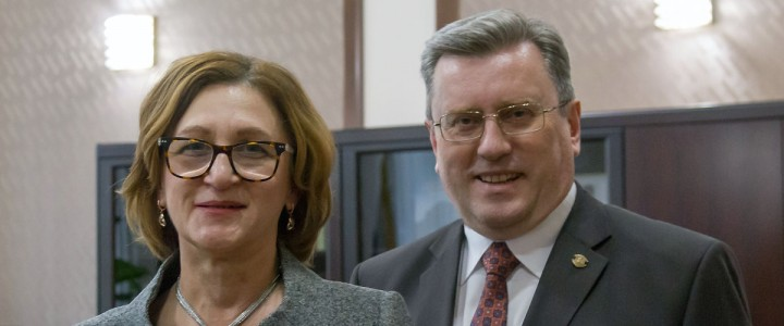 Межвузовское партнерство Московского педагогического государственного университета и Славянского университета Республики Молдова по продвижению русского языка выходит на новый уровень