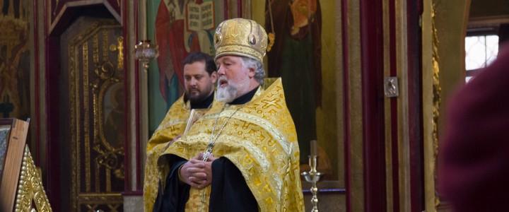 В храме Архистратига Михаила состоялся молебен, приуроченный к 145-летию МПГУ