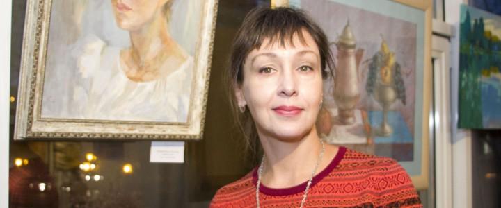 Преподаватель Ставропольского филиала МПГУ представила свои работы на выставке «КОРНИ И ВЕТВИ»