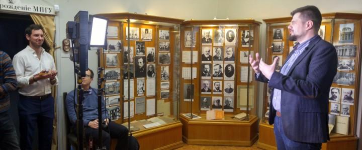 Музей как декорация к фильму