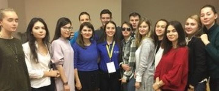 Студентка ИСГО – активный студенческий лидер в рамках проекта Российского союза молодежи