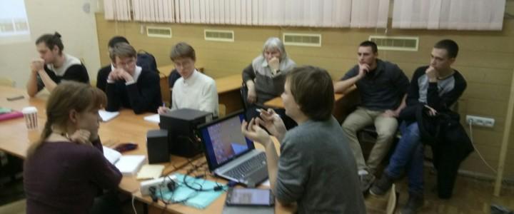 Студенческое научное общество ИИиП МПГУ продолжает активную деятельность