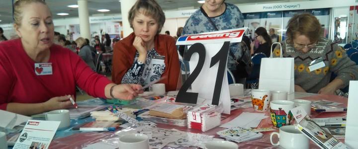 Студенты технологи на форуме «Достояние России. Народная художественная культура – детям»
