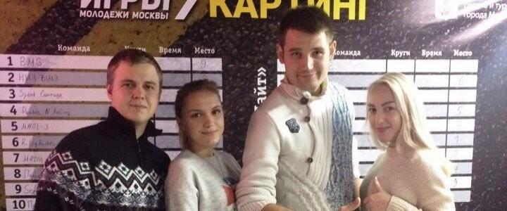 Студенты ИСГО на турнире Московской серии по картингу