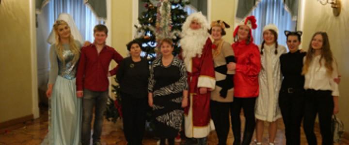 23 декабря в Российском детском фонде в 16-й раз прошла елка для детей с нарушением слуха