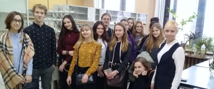 """Учащиеся химико-биологического класса ГБОУ """"Школа № 1310"""" в МАИ"""