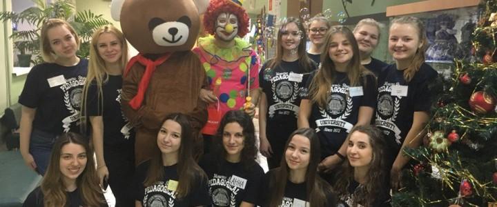 Студенты кафедры олигофренопедагогики и специальной психологии приняли участие в проведении городского Лего-фестиваля