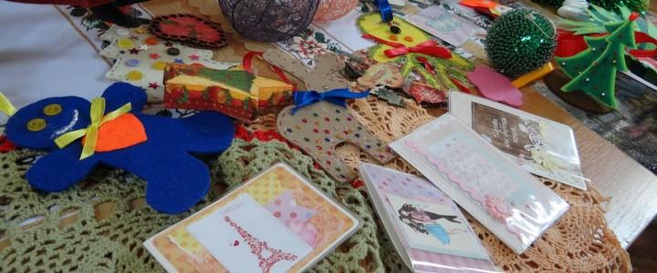 Мастер – класс по изготовлению поделок для благотворительной ярмарки «Праздник в каждый дом»